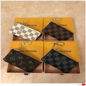 Tasarımcılar Lüks ÇantalarLvLouis Anahtar Kılıfı Pochette Cles Kadınlar Erkek AnahtarıViton66 Yüzük Kredi Kartı Tutucu Coin Çantalar Mini Cüzdan Çanta