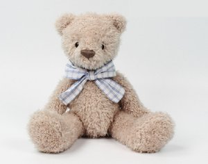 Gentleman Teddy bear comfort doll children girls birthday gifts plush toy bow tie