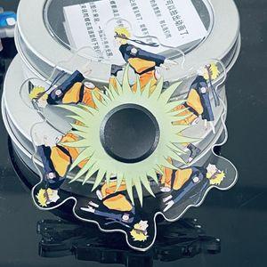 2021 Top Naruto 3D Phantom Dynamic Run Fingertip Spin Gyro in Iron Box
