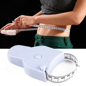 1.5M Fitness Accurate Body Fat Caliper Tape Measures Fitnesss Special Ruler Flexible Measuring Tapes With Handle EWA4790