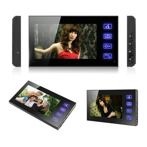7 '' Video Door Phone Intercom Access Control System 1 Monitor + RFID Türklingelkamera + Wireless Remote Unlock Telefone