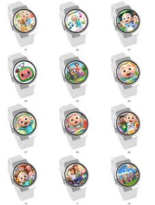 CoCoMelon Animation Surrounding Waterproof Touch LED Student Electronic Watch