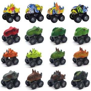 Electric RC CarChildren's toy simulation dinosaur model inertia return monster car children's Day gifts