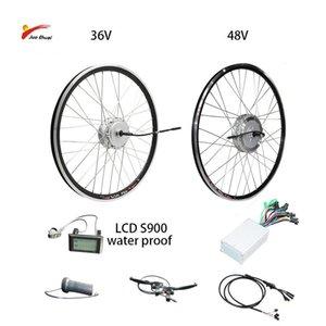 전기 자전거 Bafang 모터 휠 36V250W / 350W / 500W 브러시리스 기어 허브 모터 48V500W / 100W 전면 리어 전자 자전거를위한