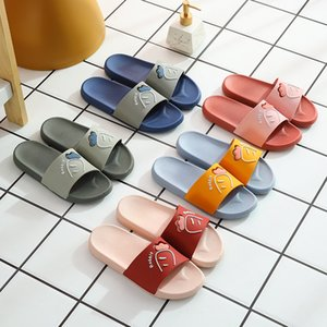 Summer slippers female 2021 wholesale, outer wear couple indoor home bathing bathroom non-slip men's sandals size 36-45