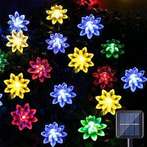 Strings 5M LED Solar Light Outdoor Wedding Decoration Lamp String Lights Waterproof Fairy Christmas Garland Year Garden