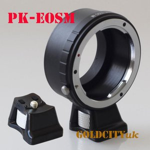Lens Adapters & Mounts Adapter Ring With Tripod Stand For Pentax PK To EOSM EF-M Mirrorless Camera Body EOSM M2 M3 m5 m6 m50