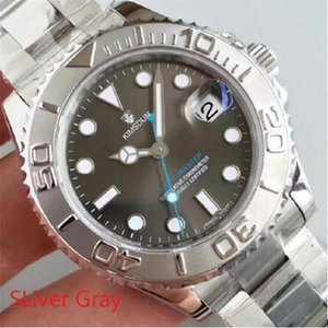 U1 Mens Watch Grey dial sapphire glass Stainless Steel Strap Automatic Mechanical Movement 116622 40mm Men Yacht Watches