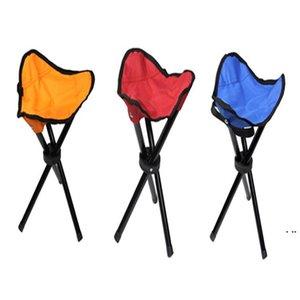 Kamp Katlanır Taşınabilir Sandalye Su Geçirmez Katlanabilir Alüminyum Alaşım Tüp Balıkçılık Plaj Yürüyüş Piknik Için Wholeasle Deniz Nakliye HWB6143