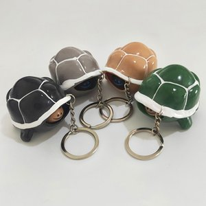 Cute Decompression Toy Shrink head tortoise Crowded Stress BallKeychain Kids Squeeze Baby Key-chainDecompression Toys