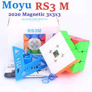 MOYU RS3M 2021 магнитный 3x3x3 волшебный кубик RS3 M Speed Cube 3x3 Cubo Magico Puzzle MFRS3 м