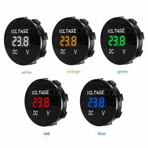 DC 5V-48V Digital Panel Voltmeter Voltage Meter Tester Led Display For Car Auto Motorcycle Boat ATV Truck Refit Accessories