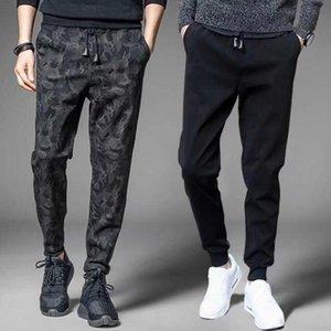 Men's Pants Autumn Thin Casual Loose-fitting Harem Sweatpants Jogging Men Clothing Black