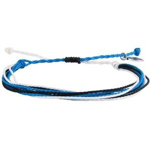 Tennis KELITCH 2021 Women Men Couple Wrap Bracelets Jewelry Handmade Waterproof Strand Rope Friendship