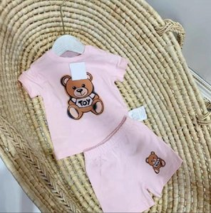 Kids Designers Tracksuits Clothing Sets Summer Baby Boy Girl T Shirt Shirts Shorts Suits Child Infant Luxury Outfits Sportswears