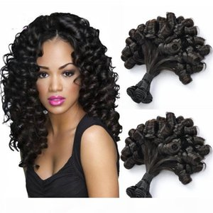 China Funmi Hair Super Double Drawn Remy Human Hair Extensions Virgin Brazilian Bundles with closure for sale