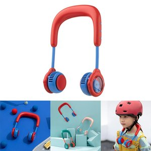 Hanging Neck Fan, Outdoor Sports USB Charging Mini Cartoon Electric Fan For Children Aged 6-16 Fans & Coolings