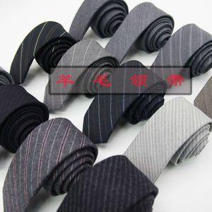 95% wool stripe arrow business casual narrow bridegroom tie