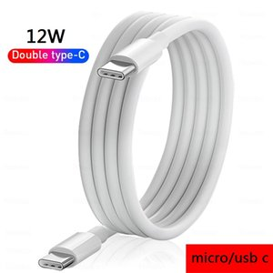 1m 3ft 12W USB C cables Type-C Micro 5pin Cable For Samsung S6 s7 edge s8 s10 s20 note 20 htc lg android phone