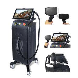 CE 755 808 1064nm Диодная лазерная машина для удаления волос для удаления волос отбеливающая система охлаждения безболезненного постоянного эпилятора бикини тела красоты оборудование для омоложения кожи омоложение депилятора