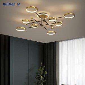 Chandeliers Modern LED Chandelier Lighting For Living Room Bedroom Golden Nordic Decor Lamps Indoor Lights Fixtures Luminaria Lustres
