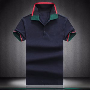 Mens Designers Polo Shirts Casual Stylist Clothes Short Sleeve Fashion Men Summer T Shirt Size M-3XL W455