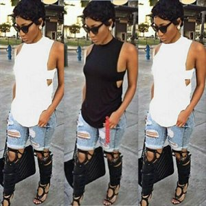 Women Cami Womens Summer Backless Tank Top Plain Vest Fashion Ladies Female Sexy Cute Hollow Stylish Solid Blackcasual
