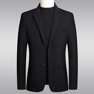 Suits 2021 Coat Spring Autumn Tweed Slim Middle-aged and Young Leisure Trend Handsome Men's Small Suit