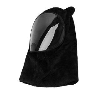 Motorcycle Helmets Cold Weather Balaclava Fleece Ski Mask Hat Winter Windproof Hood Cycling Waterproof Neck Warmer For Women Men