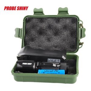 Led Tactical Q5 Hunting Light Zoomable Focus Adjustable Torch+rifle Scope Mount+switch+18650+charger+case Bike Lights