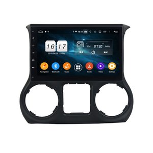 "4 ГБ + 128 ГБ 10.1 ""PX6 Android 10 автомобильный DVD-плеер DSP Radio GPS навигация для Jeep Wrangler 2011-2016 Bluetooth 5.0 WiFi Easy Connect"
