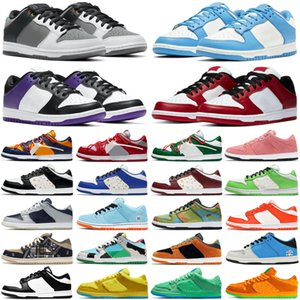 elephant chunky dunky dunk shadow men women shoes Chicago Civilist Ceramic Heineken low Pale Ivory mens trainers sports sneakers size 36-45