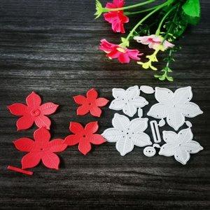 Painting Supplies Flower Metal Cutting Dies For DIY Scrapbooking Paper Cards Decorative Crafts Embossing Die Cuts