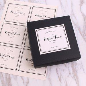 Клейкая наклейка для уплотнения наклейки для выпечки Упаковка наклейки украшения кекс этикетка
