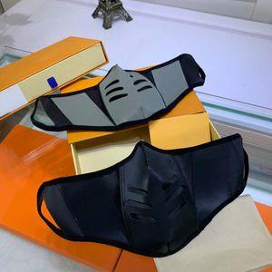 Özelleştirilmiş Klasik Deri Parti Maskeleri 2021 Erkek Kadın Moda Tasarımcısı Yüz Ağız Maskesi Unisex Anti Toz Yıkanabilir Yeniden Kullanılabilir Pamuk Maskeleri
