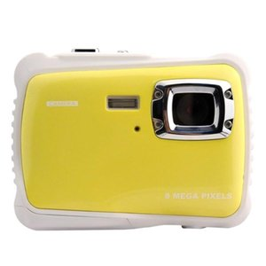 Waterproof Digital Camera With 8X Zoom   8Mp 2 Inch Tft Lcd Screen For Kids Cameras