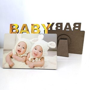 Photo Books sublimation blank DIY Wooden photos frames love BABY MDF frame hard board gift print decorative unframed panels