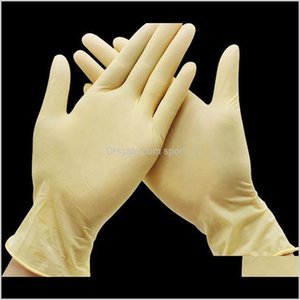 Tools Housekeeping Organization Home Drop Delivery 2021 Disposable Latex For Cleaning Food Gloves Rubber Universal Household Garden Protectiv
