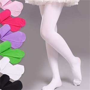 10Pc Lot Muiti-Colors Girls Tights Kids Novelty Stockings Baby Soft Velvet Ballet Pantyhose 3-12Years 1081 Y2