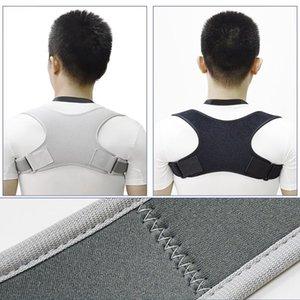 Back Posture Corrector Clavicle Spine Shoulder Lumbar Brace Support Belt Correction Prevents Sports Safety