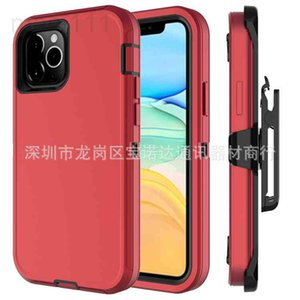 Suitable for 12 mini three mobile phone fall proof robot iPhone 11 Pro protective case Max