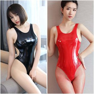 One-piece Sexy Leather Clothes, Underwear, Bikini Swimsuit, Tight Buttocks, Three-point Passion Suit, Dead Water