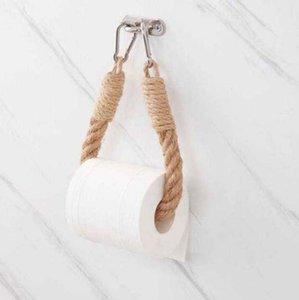 Supporti di carta igienica Scaffali per servizi igienici Asciugamano vintage Appeso Appeso Porta tessuto Home Home Hotel Decorazione del bagno Forniture