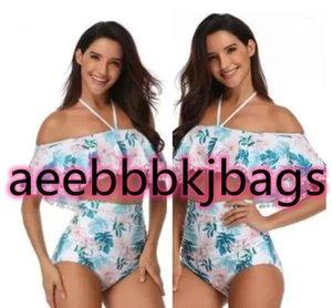 Women Sexy bikini swimsuit high waist swimming,lotus leaf side tie and split female, flexible stylish,online store for sale
