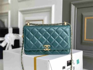 Chanel Classic women's handbag leather Flap Clutch Shoulder small women's bag mutton wallet gold chain fashion bag wholesale