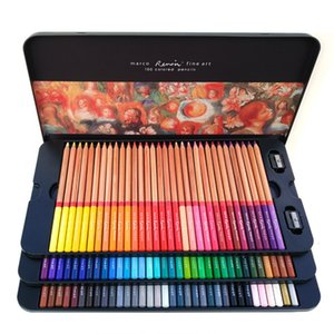Marco Renoir 24 36 48 72 100 Colors Pencil Set Painting Pens with boxes profesionales Crayons Colouring Drawing Pencils Set Wholesale