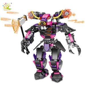 408pcs Bull Demon King Combat Robot Building Blocks Warrior Chinese Mecha Monkey Figures Bricks Toys Children