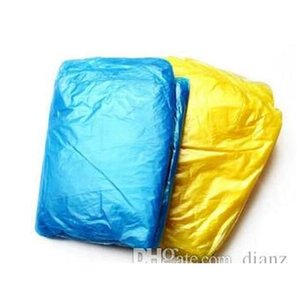 Household Sundries Home & Garden Drop Delivery 2021 Disposable Pe Raincoats Poncho Rainwear Travel Coat Rain Wear Gifts Mixed Colors Pqimm