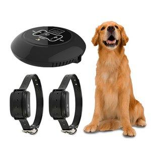 Wireless Dog Заборы, тренировочный воротник Черный Цвет ПЭТ Пульт дистанционного управления Водонепроницаемый Для всех размеров Собаки Забор Вибрационный звук