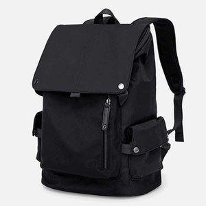 Suitcases 2021 Men's Nylon Anti Splash Double Shoulder Computer Backpack Leisure Large Capacity Bag